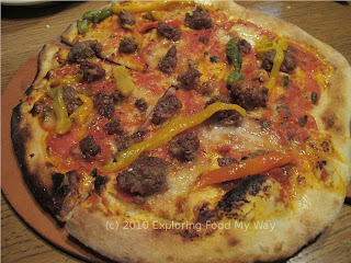 Pork Sausage Pizza
