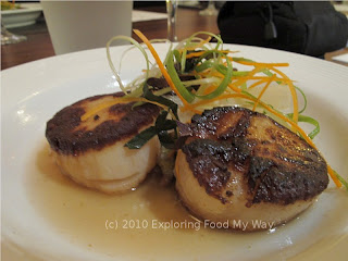 Seared Scallops in Dashi Broth