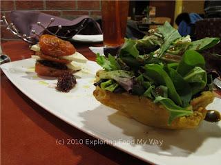 Roasted Tomato Napolean Salad Angle 2