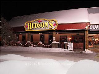 Hudson's Restaurant Storefront