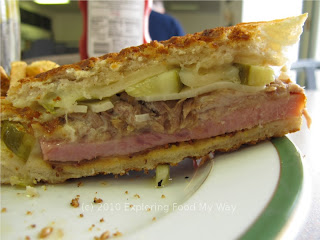 Side Shot of Cuban Sandwich