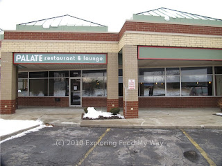 Exterior of Palate Restaurant and Lounge