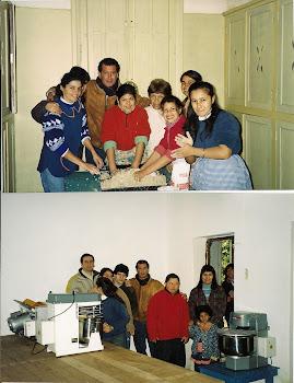 TALLER DE PANADERÍA -logrado con fondos otorgados por la FUNDACIÓN NAVARRO VIOLA