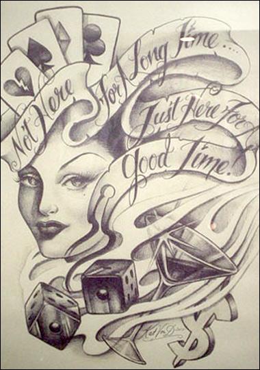 miami ink tattoo miami ink kat von d tattoo. Black Bedroom Furniture Sets. Home Design Ideas