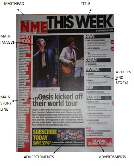 nme front cover. nme front cover. than the