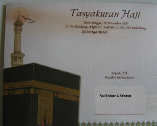 Download Contoh Surat Undangan Syukuran Naik Haji | Beach Wedding