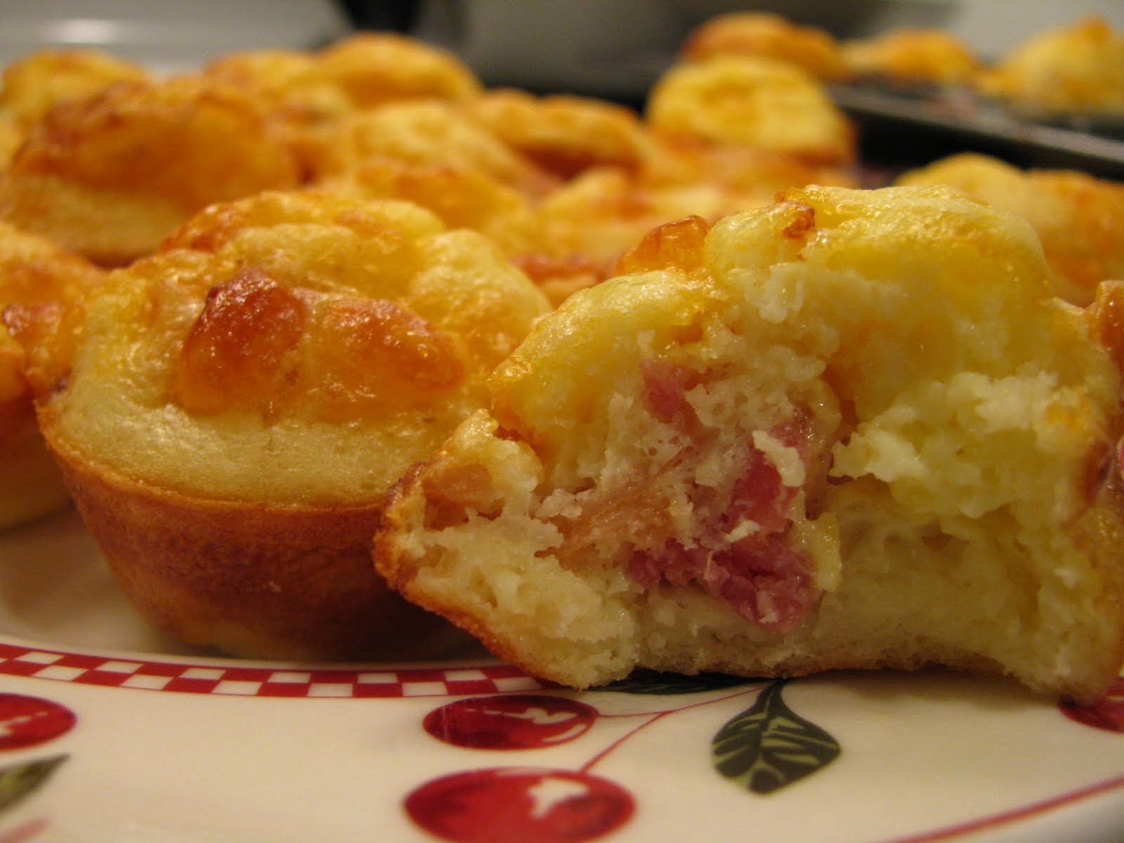 Adventures in Food: Mini Bacon Cheddar Quiche