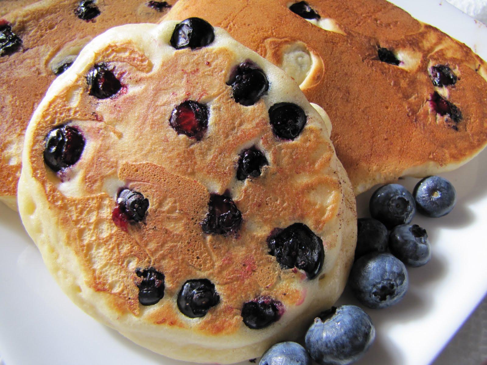 Adventures in Food: Lemon-Blueberry Pancakes