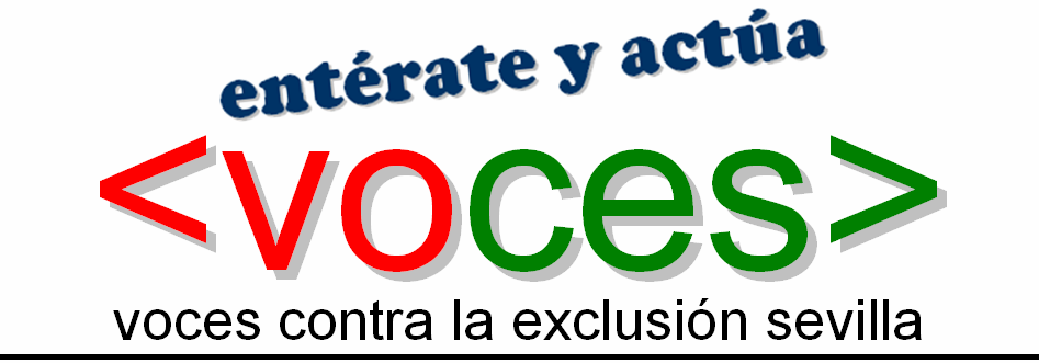VOCES CONTRA LA EXCLUSIÓN EN SEVILLA