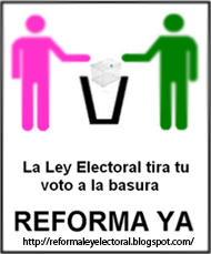 reforma ley electoral