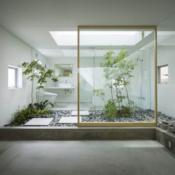 japanese house interior design. If you want to feel the natural atmosphere like in Japan  can try build this Japanese house architecture Use simple design of Finance Business Modern Floral House Interior Design