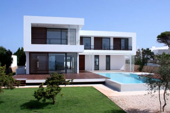 Summer House Plans with Swimming Pool Design in Spain Home