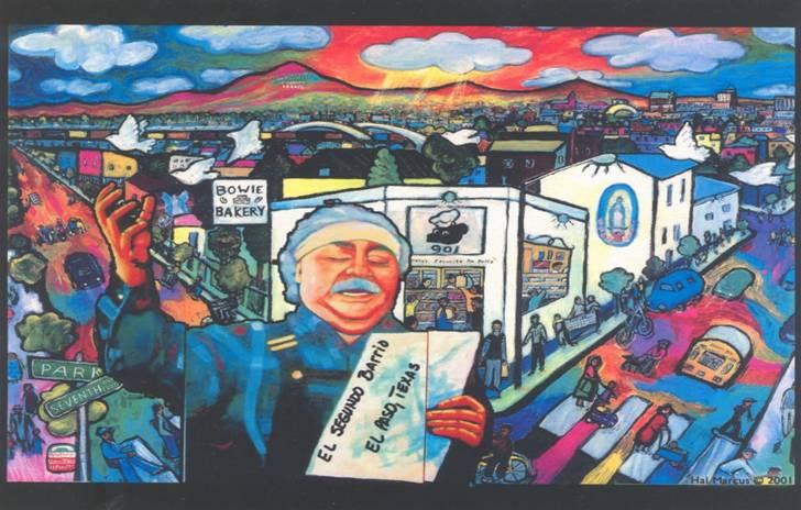 Pluma fronteriza your chicano literature news for Chicano mural movement