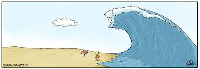 Enfrentándose al Mar