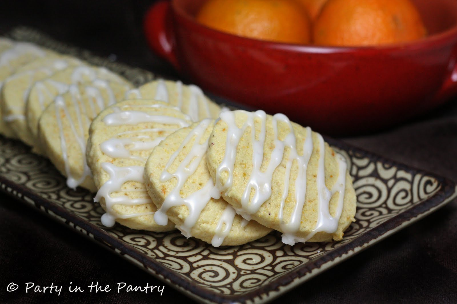Party in the Pantry!: Orange Cornmeal Cookies