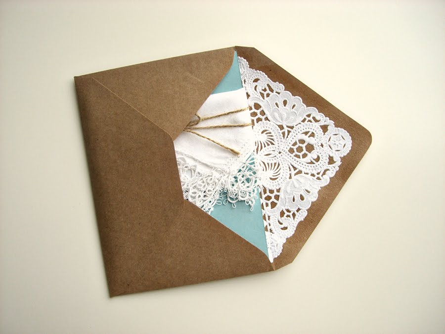 Envelope Liners DIY