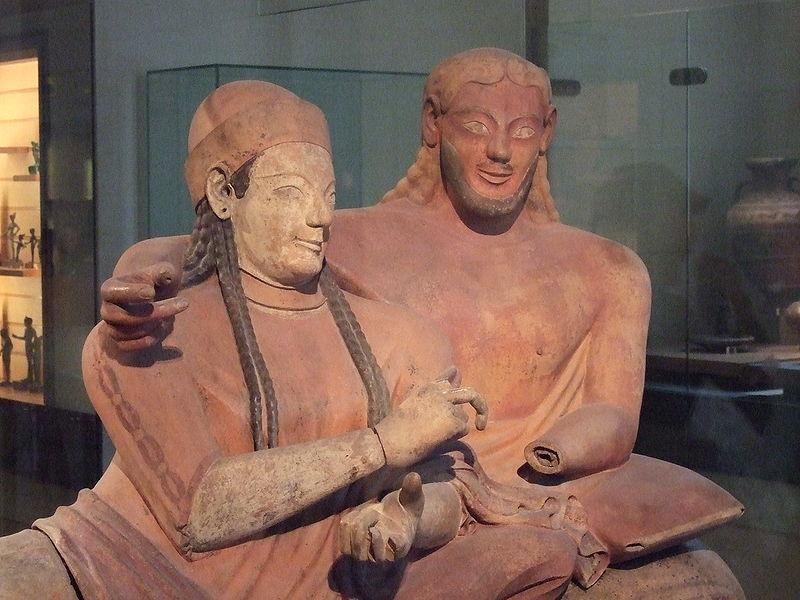 Etruscan women vs greek women