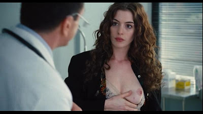 Anne Hathaway boobs and nipple