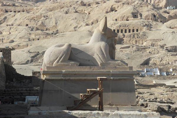 The Anubis Sphinx by karima
