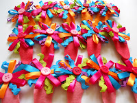 Colorful Ribbon HairClip