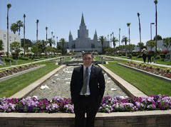 Ross at the Okland Temple
