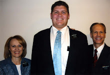 Elder Fackler and His Mission Pres.