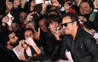 Bruce Springsteen de Cine en Roma