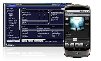 Aplicación de Winamp para Android