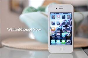 Carcasa blanca para el iPhone 4