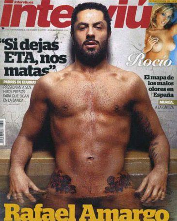 Rafael Amargo se desnuda y fotografía