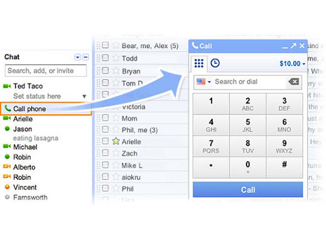 Lamadas gratis con gmail