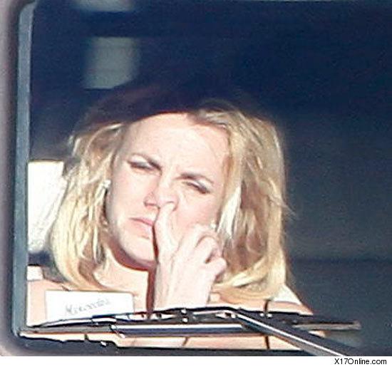 Britney Spears busca su moco