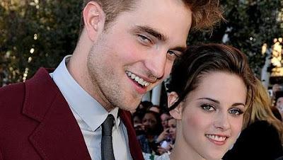 Pattinson y Kristen de nochevieja