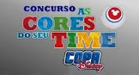 Concurso As Cores do seu Time Disney
