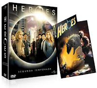 Box DVDs Heroes