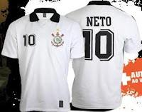 Camisa do Neto do Corinthians
