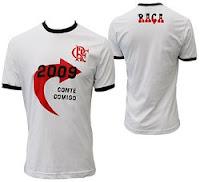 Camisa Flamengo Conte Comigo em 2009