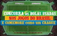 Comemore Coca-Cola com as bolas usadas na Copa