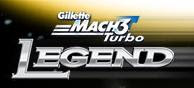 Gillette Mach3 Turbo Legend