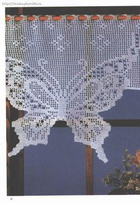 Вязание спицами ажурный рисунок бабочка