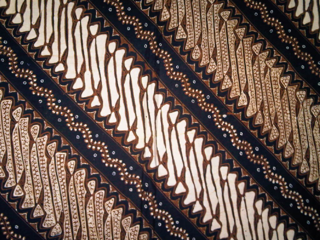 batik wallpaper motif barong usus keli