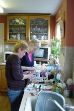 me and my bessie mate crafting certainly not cooking !!  Serious stuff this is needs concentration,