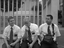 Elder Ropelato, Elder Cook, and Elder Cruz