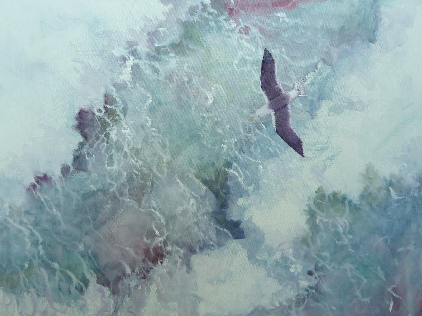 free bird painting