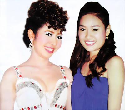 chhaiy lidalane and sariy sackena khmer signer and actress