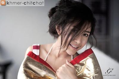 vang sreyno khmer sexy model