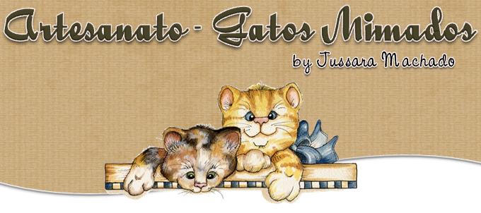 Artesanato Gatos Mimados