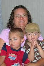 Grandma Lori and boys