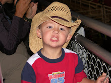 Jayden in his cowboy hat