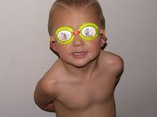 Jayden in his goggles